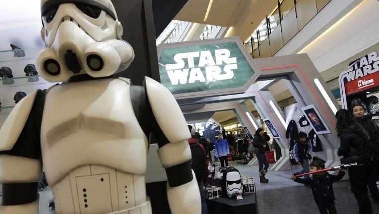 Star Wars is pas in december 2017 te zien. Beeld anp