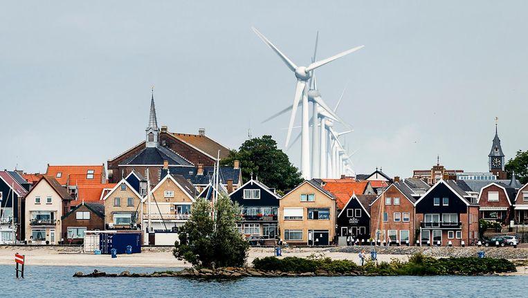 Windpark Noordoostpolder Beeld anp