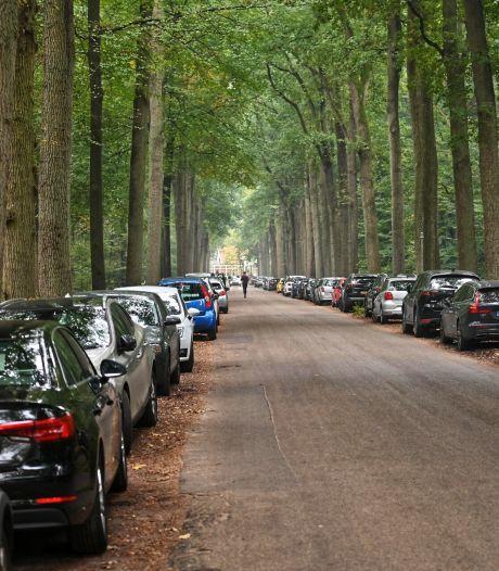 Drukte in bossen rond Breda in eerste weekend herfstvakantie: 'Ga gewoon iets verder de stad uit'