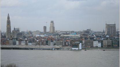 Schelde treedt buiten haar oevers in Antwerpen: waterpeil steeg tot 7,16 meter