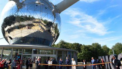 Atomium opnieuw open: testmaand met enkel online tickets