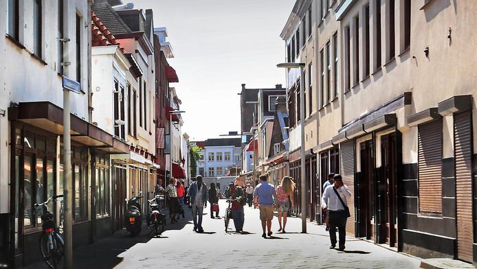 De Doubletstraat in het centrum van Den Haag.