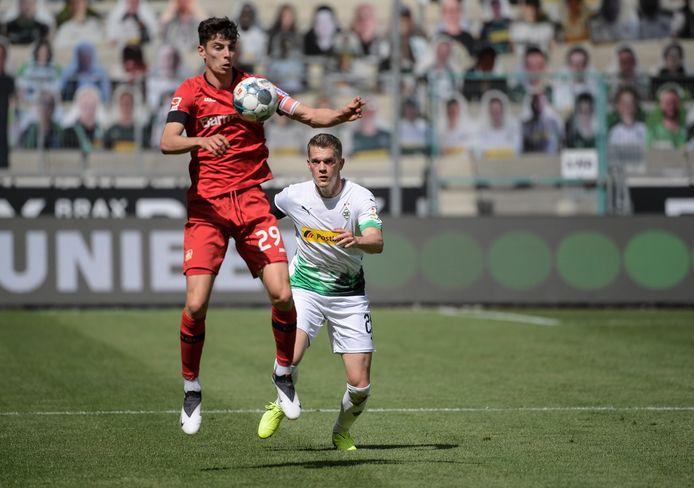 Kai Havertz a inscrit qutre buts en deux matchs depuis la reprise.