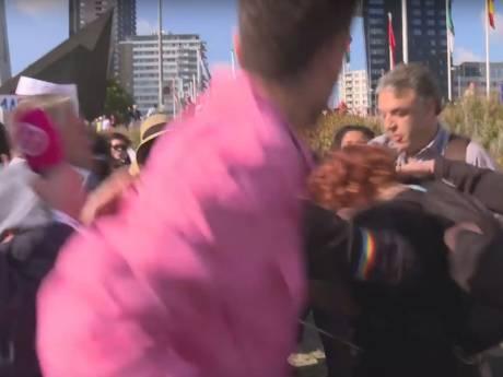 Politie tegen linkse activisten: houd jullie koest tijdens homofestijn