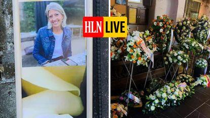 HLN LIVE. Familie, vrienden en collega's nemen afscheid van Ilse Uyttersprot