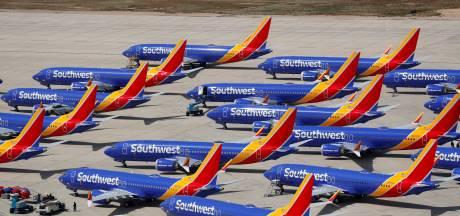 Boeing in het rood door problemen met de 737 MAX