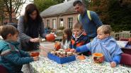 Kinderen vieren nu al Halloween in Plantentuin