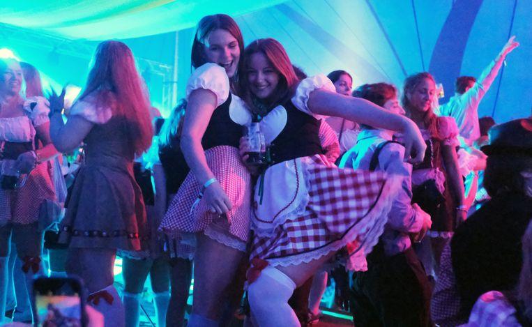 1500 feestvierders op Wevelgemse Oktoberfest