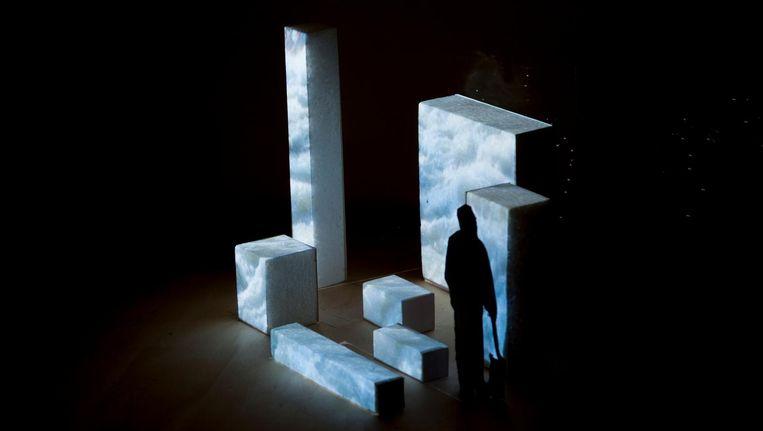 Het werk Westland Wells heet straks op de nieuwe plek Virtual Fountains Beeld Femke Schaap