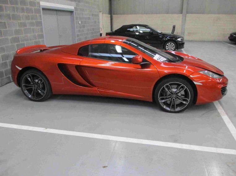 Deze McLaren bracht ruim 87.000 euro op.