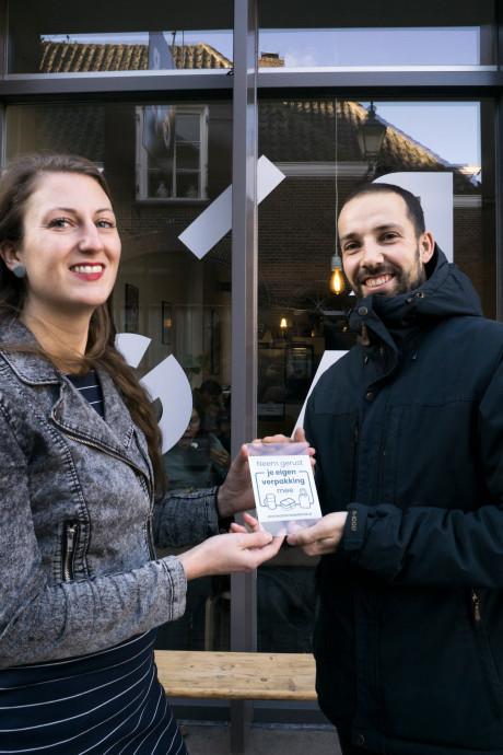 Initiatief vanuit Breda: 'Neem gerust je eigen verpakking mee!'