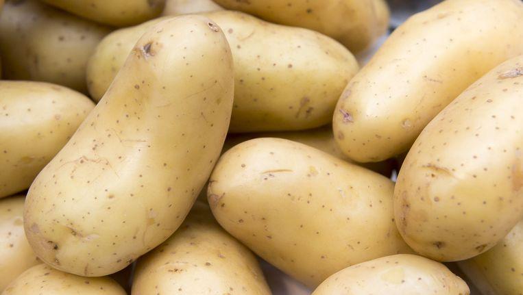 Aardappels. Beeld null