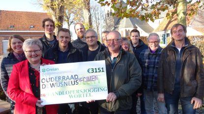 Oudecomité De Wijsneus krijgt 3.151 euro