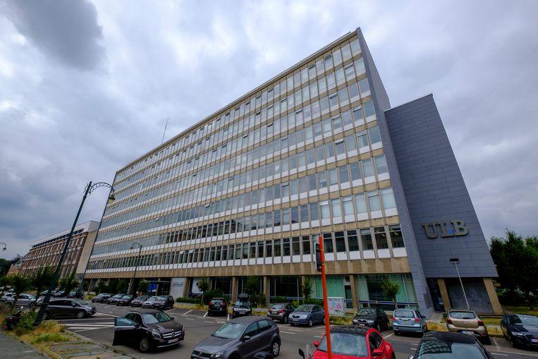 De campus Solbosch van de Université Libre de Bruxelles (ULB.)