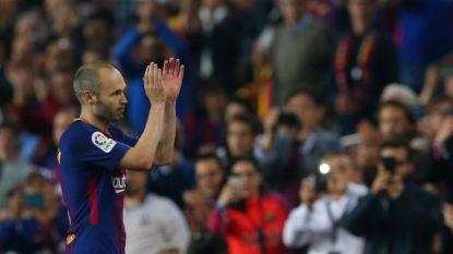 LIVE: Luistert Barcelona tegen Real Sociedad afscheid van Iniesta op met knalzege?