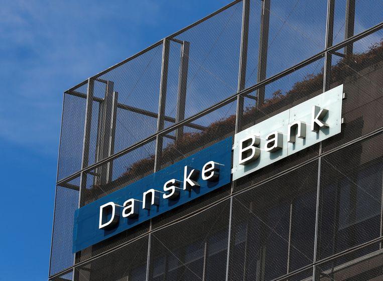 Het filiaal van Danske Bank in Estland, waar miljarden werden witgewassen. Beeld REUTERS
