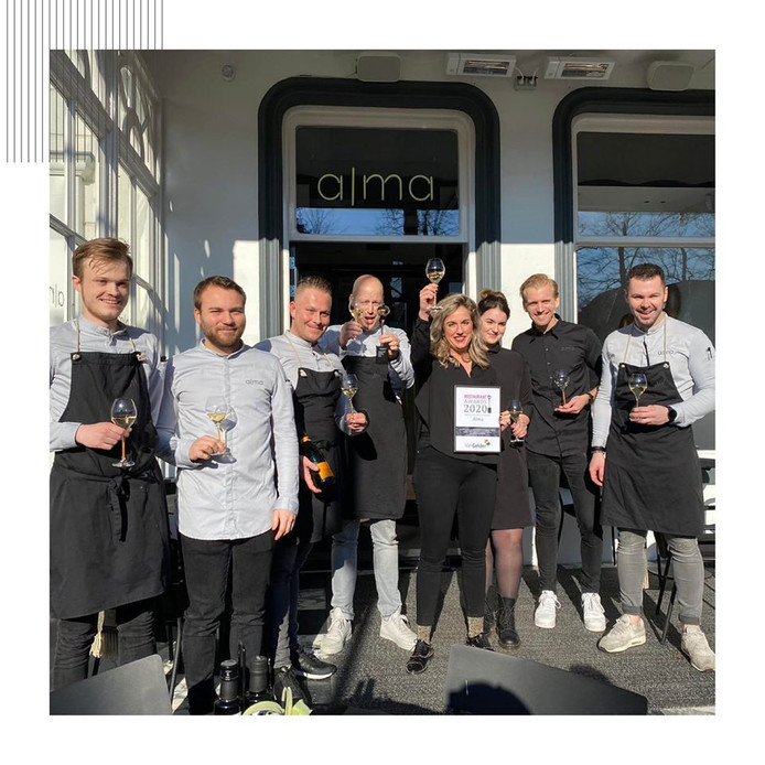 Het team van Alma in Oisterwijk