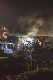 Schuurtje uitgebrand op volkstuinencomplex in Tholen
