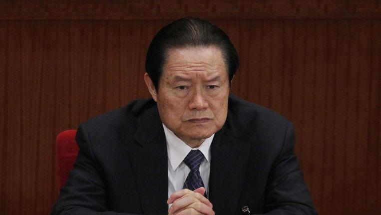 Zhou Yongkang. Beeld ap