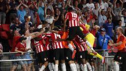 Football Talk. PSV buigt scheve situatie om in slot - Mogelijke EL-tegenstrevers van Antwerp spelen gelijk - Anderlecht verliest laatste oefenpot