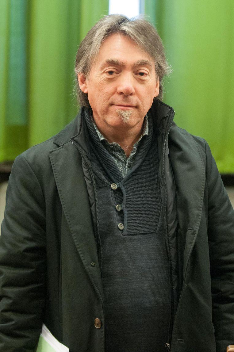 GAIA-voorzitter Michel Vandenbosch op het proces tegen de man.
