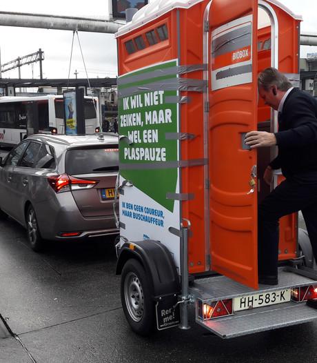 Buschauffeurs in Eindhoven willen 'niet zeiken, maar wel een plaspauze'
