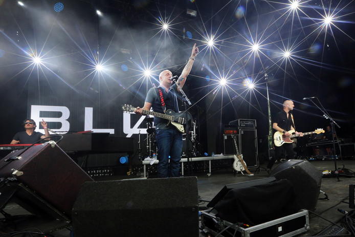 Bløf staat vrijdag 5 juli op het podium van Breda Live. In 2016 traden ze ook al op tijdens het feest (foto).
