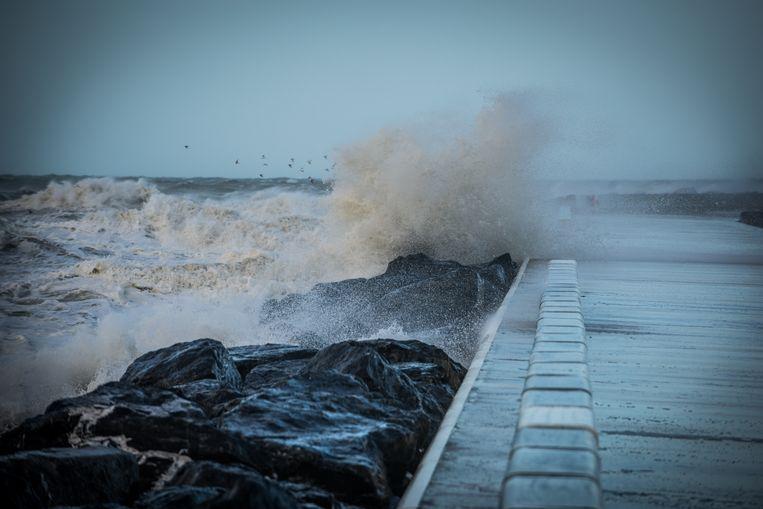 Zowel aan de kust als in het binnenland dreigt de storm voor forse windstoten te zorgen, tot 100 of lokaal zelfs 120 km/u.