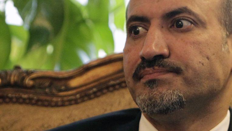 Oppositieleider Ahmad Jarba. Beeld reuters