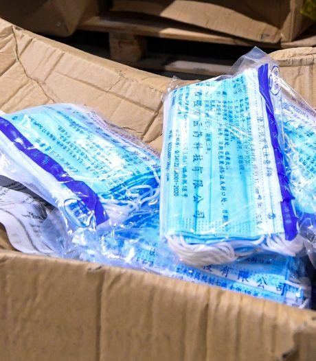 Des masques produits sous la contrainte en Chine vendus en Belgique