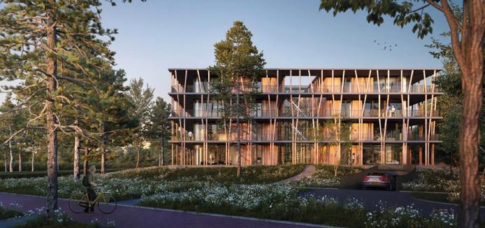 Het Bosbad van Kikx Development B.V. (20 appartementen) kan vanaf 2020 gebouwd worden in Bosrijk, Meerhoven, Eindhoven.