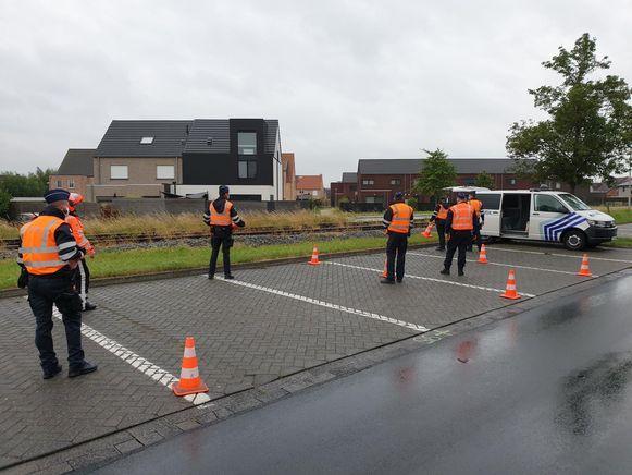 BORNEM / PUURS-SINT-AMANDS - Controle-actie van de politiezone Klein-Brabant.