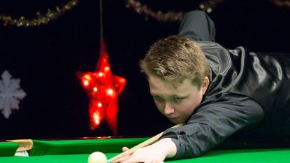 14-jarige Ben Mertens gooit hoge ogen op snookertoernooi, Luca Brecel morgen aan zet