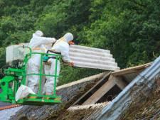 Meeste asbestsubsidie ging naar boerenbedrijven