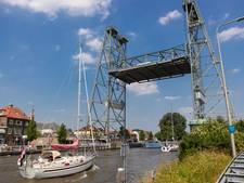 Paneel laat nu zien: staat de hefbrug Waddinxveen open, of niet?