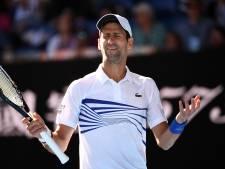 Djokovic levert één set in tegen Shapovalov