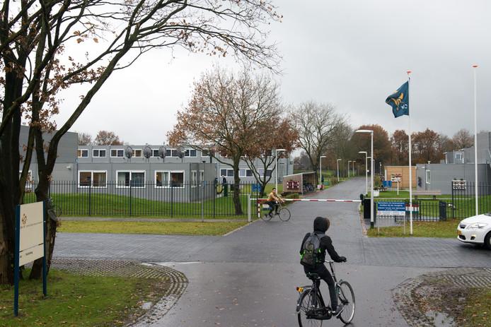 Het AZC in Hardenberg