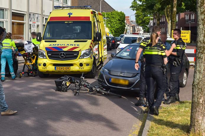 Oudere vrouw gewond in Tilburg