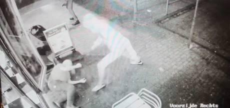 Mishandelde Arnhemse snackbarhouder deelt schokkende beelden van brute overval: 'Wie herkent deze lafbekken?'