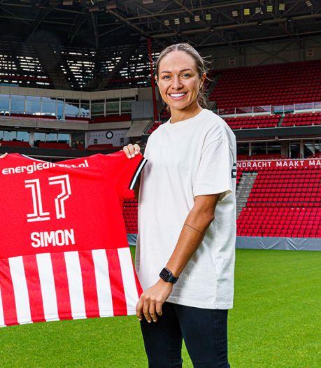 Australisch international Kyah Simon maakt selectie van PSV Vrouwen compleet