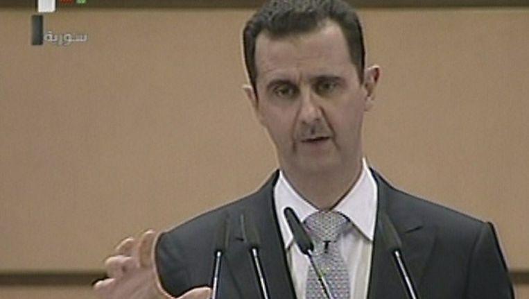 President Assad Beeld afp