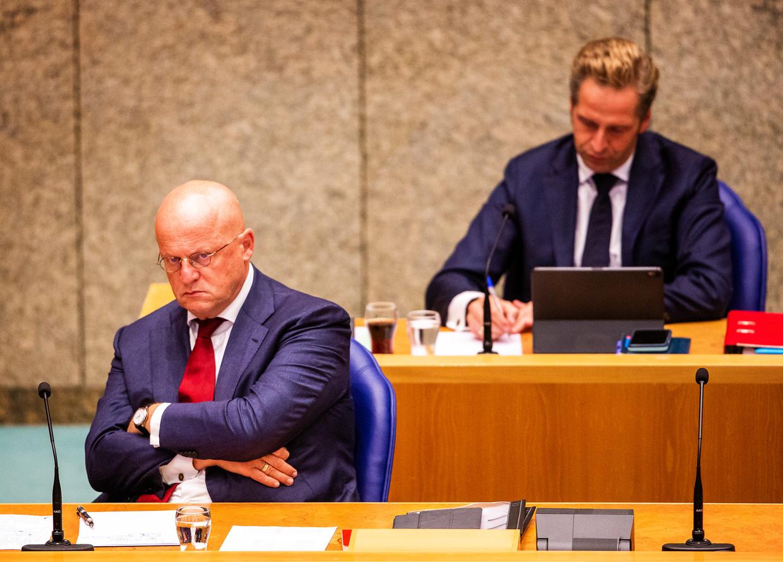 Minister Grapperhaus: 'Ik liet me meeslepen door de gebeurtenissen van die dag.'  Beeld Jiri Büller