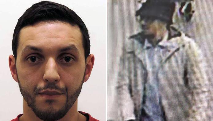 """Mohamed Abrini, """"l'homme au chapeau"""" de l'attentat du 22 mars à Brussels Airport."""