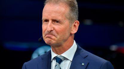 Ook huidige topman Volkswagen aangeklaagd om marktmanipulatie