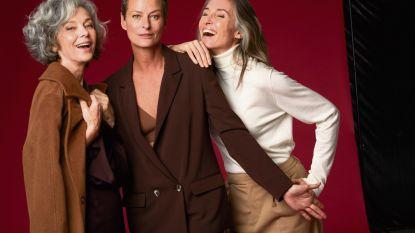 """Deze 3 modellen bewijzen dat op schoonheid geen leeftijd staat: """"Natuurlijk tellen wij nog mee"""""""