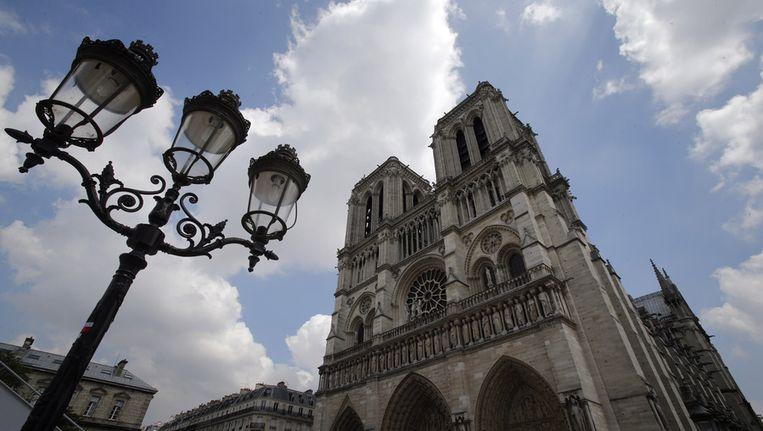 De Notre-Dame in Parijs. Beeld ap