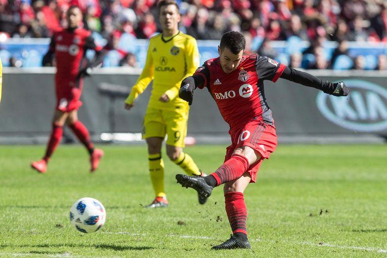 Sebastian Giovinco begint aan zijn vierde seizoen bij  FC Toronto.