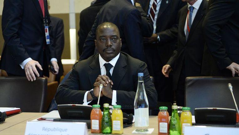 Joseph Kabila, de president van DR Congo Beeld afp