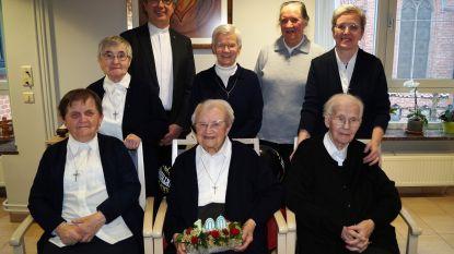 Kloosterzuster Marie-Madeleine viert 100ste verjaardag