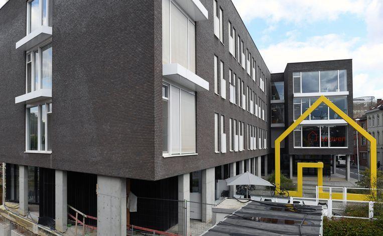 Woonzorgcentrum Remy Edouard in Leuven, waar de bewoners van woonzorgcentrum Booghuys momenteel verblijven in afwachting van de nieuwbouw.